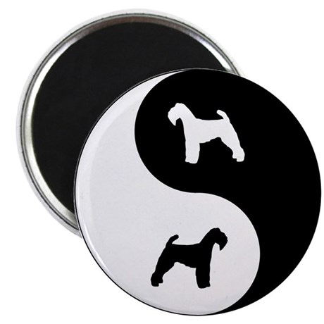 Yin Yang Welshie Magnet