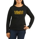 Mayan Jaguar-gold T-Shirt