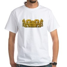 Mayan Jaguar-gold Shirt