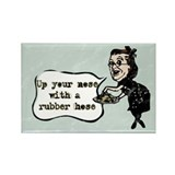 Up Your Nose Rectangle Magnet (10 pack)
