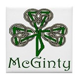 McGinty Shamrock Tile Coaster