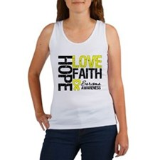 Sarcoma Hope Faith Women's Tank Top