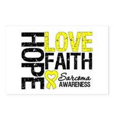 Sarcoma Hope Faith Postcards (Package of 8)