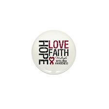 Multiple Myeloma Faith Mini Button (10 pack)