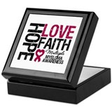 Multiple Myeloma Faith Keepsake Box