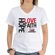 Lung Cancer Faith Shirt