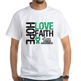 Liver Cancer Faith Shirt