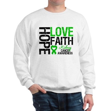 Kidney Cancer Faith Sweatshirt