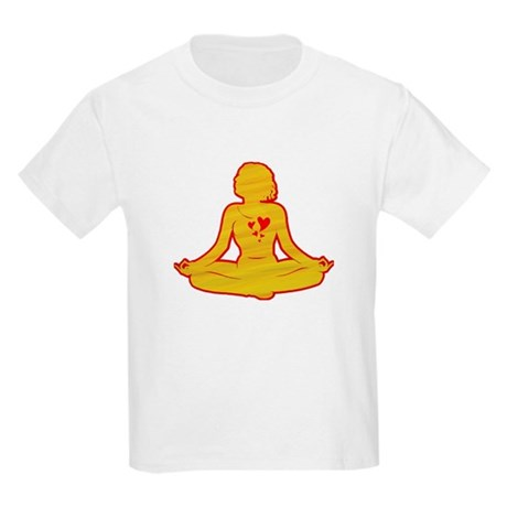I love yoga Kids Light T-Shirt