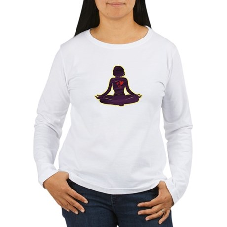 Lovely Yoga Women's Long Sleeve T-Shirt