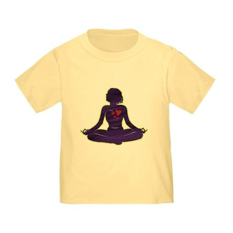 Lovely Yoga Toddler T-Shirt