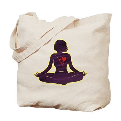 Lovely Yoga Tote Bag