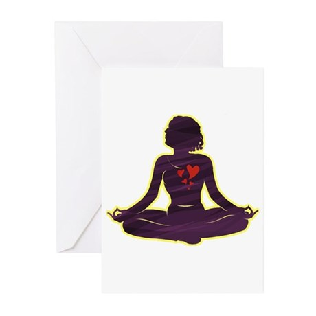 Lovely Yoga Greeting Cards (Pk of 10)