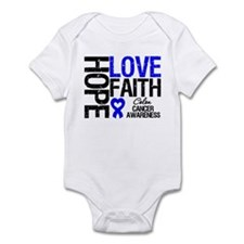 Colon Cancer Faith Infant Bodysuit