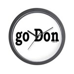 go Don Wall Clock