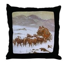 Why the Mail Was Late Throw Pillow