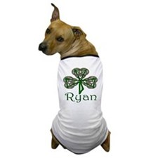 Ryan Shamrock Dog T-Shirt