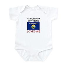 My Montana Boyfriend Loves Me Infant Bodysuit