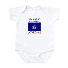 My Maine Boyfriend Loves Me Infant Bodysuit