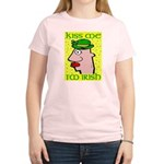 Kiss Me I'm Irish Women's Light T-Shirt