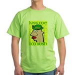 Kiss Me I'm Irish Green T-Shirt