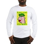 Kiss Me I'm Irish Long Sleeve T-Shirt