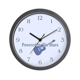 Blues Power Wall Clock