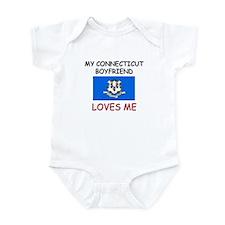 My Connecticut Boyfriend Loves Me Infant Bodysuit