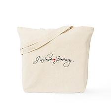 J'adore Jeremy Designs Tote Bag