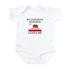 My California Boyfriend Loves Me Infant Bodysuit