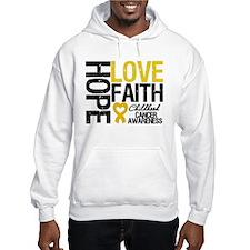 Childhood Cancer Faith Hoodie
