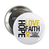 "Childhood Cancer Faith 2.25"" Button (100 pack)"