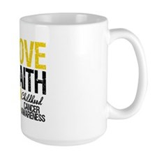 Childhood Cancer Faith Mug