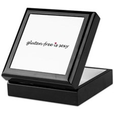 gluten-free is sexy Keepsake Box