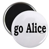 "go Alice 2.25"" Magnet (100 pack)"