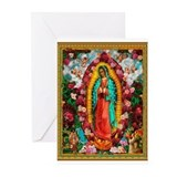 Unique Dia de los muertos Greeting Cards (Pk of 20)