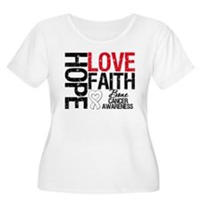 Bone Cancer Faith T-Shirt