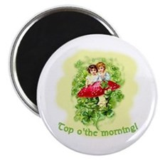 Top O'the Morning Vintage Irish Magnet