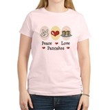 Peace Love Pancakes T-Shirt
