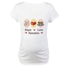 Peace Love Pancakes Shirt