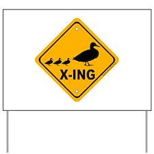 Duck X-ing Yard Sign