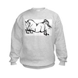 Hunter Jumper Horse Sweatshirt