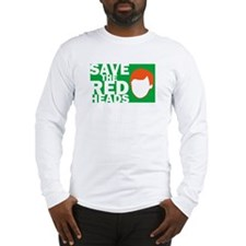 Save the Redheads Long Sleeve T-Shirt