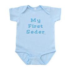 FIRST SEDER PASSOVER Infant Bodysuit