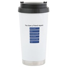 Friend Me? - Ceramic Travel Mug