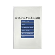 Friend Me? - Rectangle Magnet
