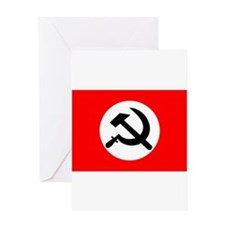 National Bolshevik Party Greeting Card