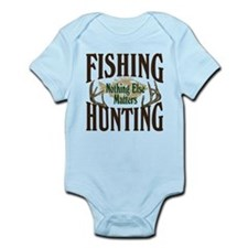 Fishing Hunting Nothing Else Matters Onesie