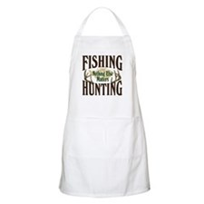 Fishing Hunting Nothing Else Matters BBQ Apron