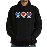 Peace Love Korea Hoody